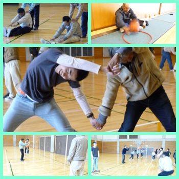 体力づくり教室に参加しました。